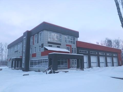 Пожарное депо подключили к электросетям в Марушкинском. Фото: пресс-служба филиала ПАО «МОЭСК» - «Новая Москва»