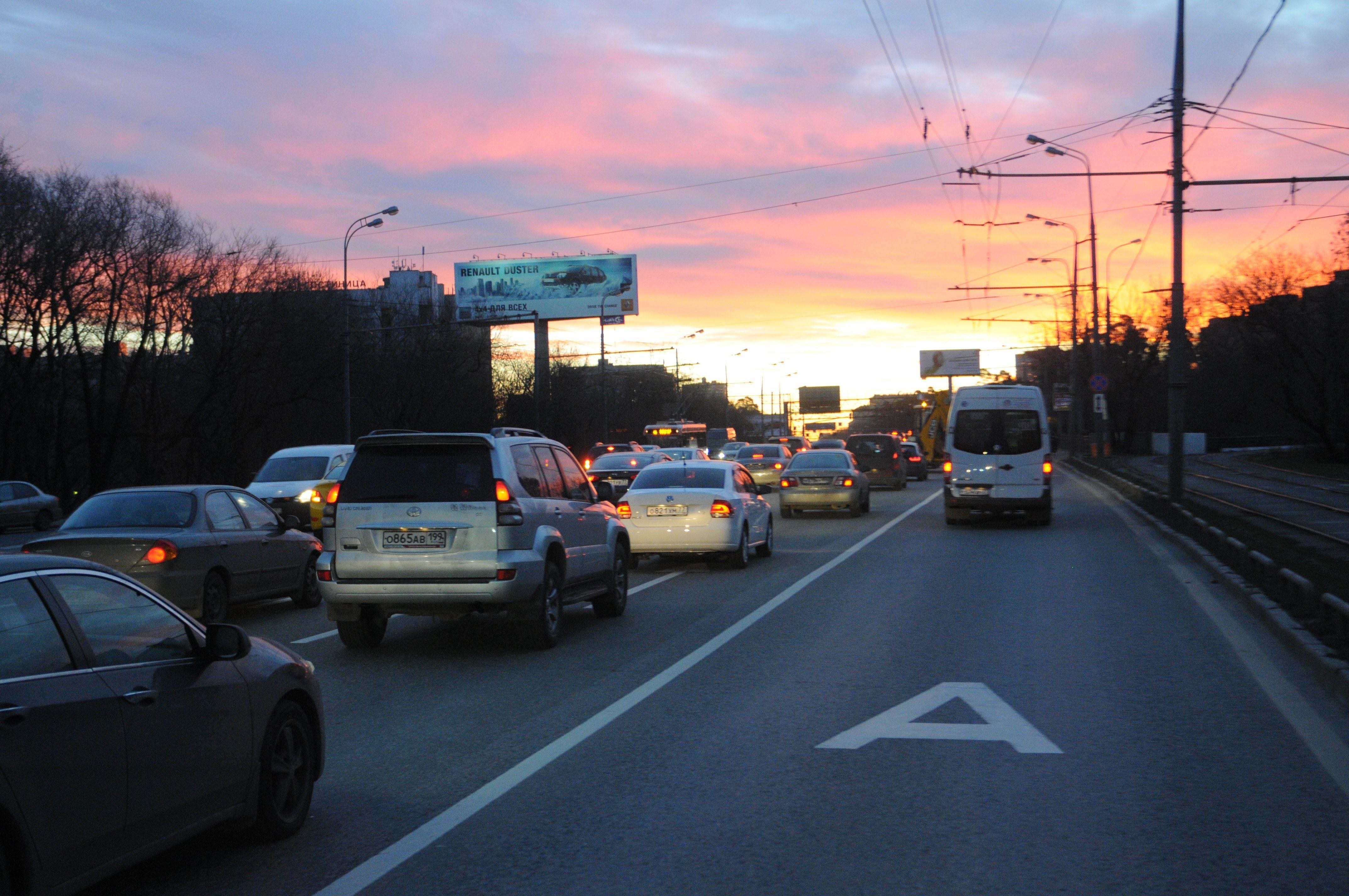 Калужское шоссе получит новую «выделенку» для автобусов
