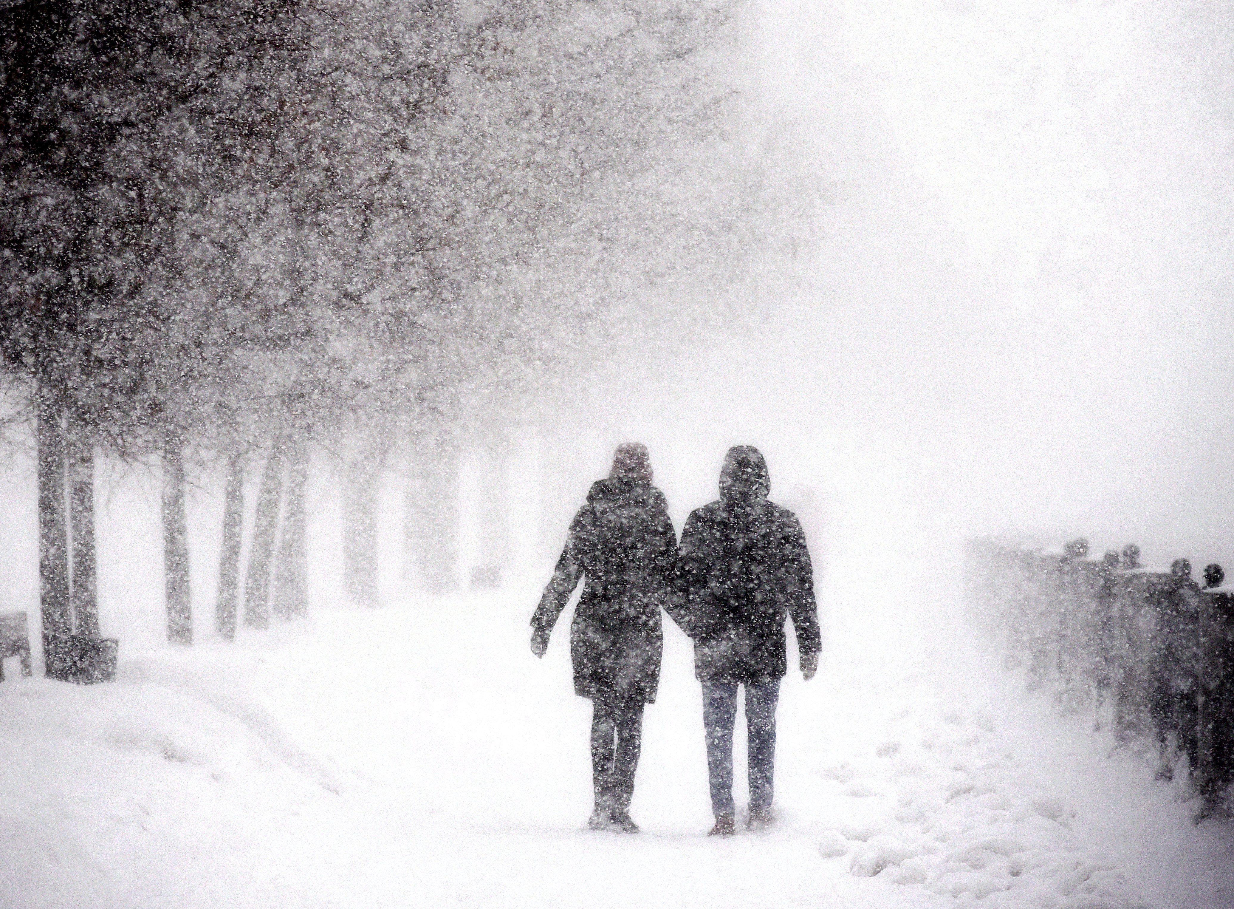 Снежные сугробы в выходные дни вырастут на десять сантиметров