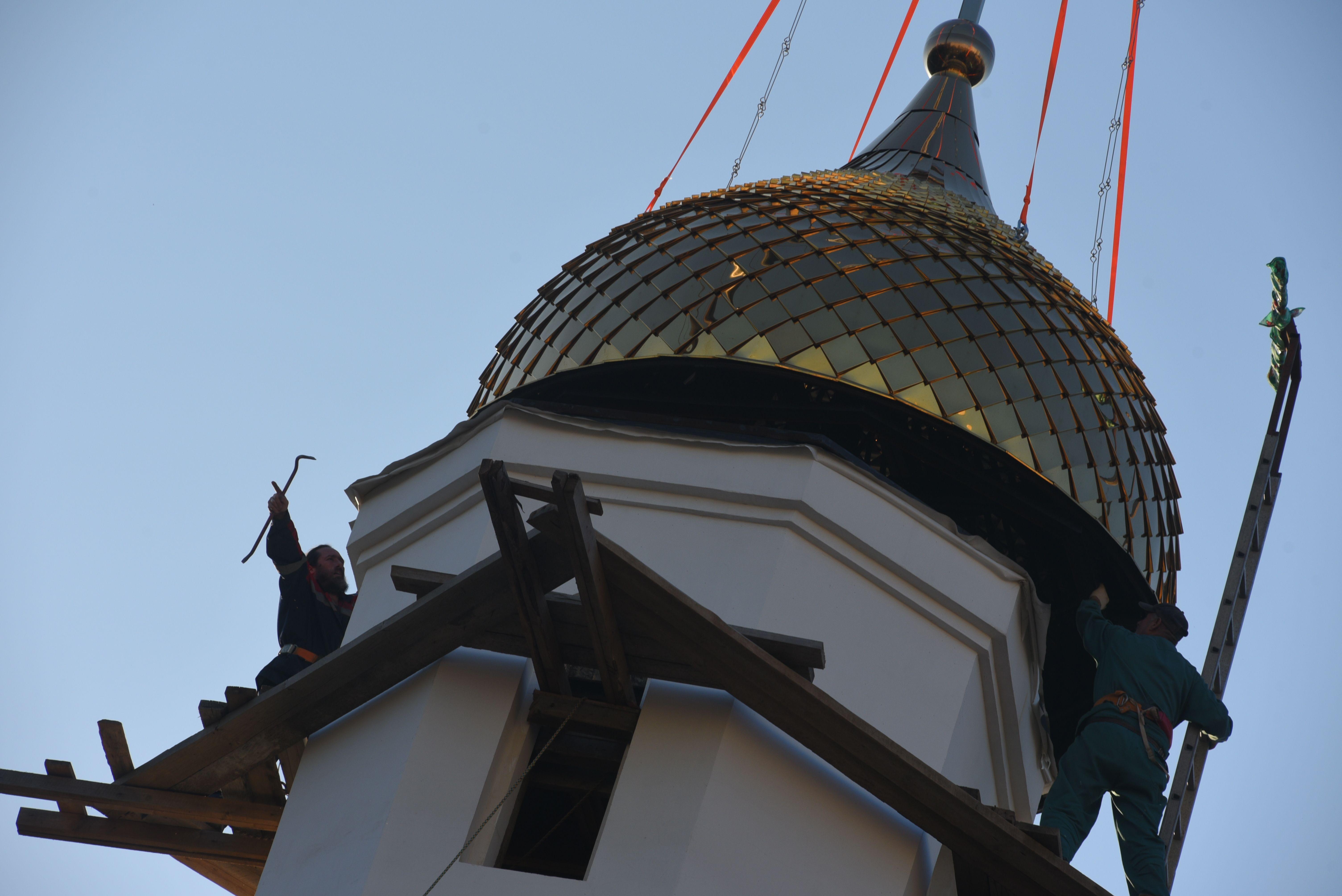 Храм Александра Невского разрешили открыть во Внуковском