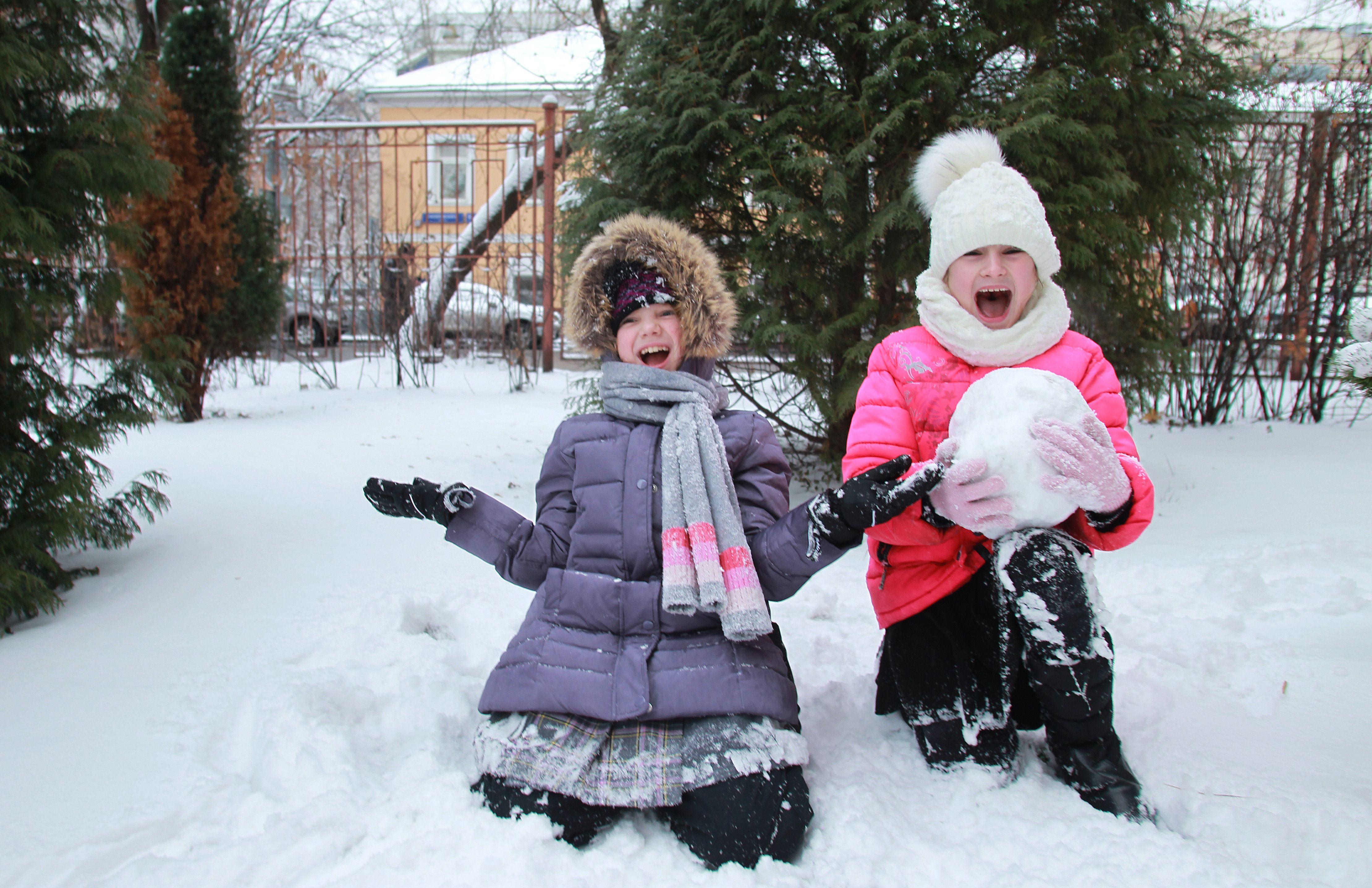Морозная погода установится в день перед Рождеством