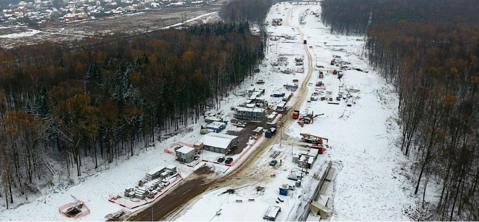 Дублер Остафьевского шоссе откроют для автомобилистов летом 2019 года