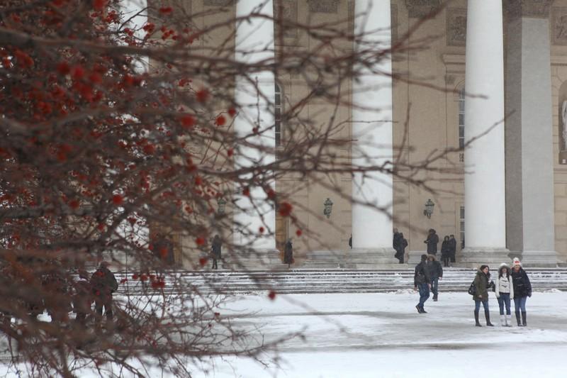 Московские зимы стали теплее на четыре градуса