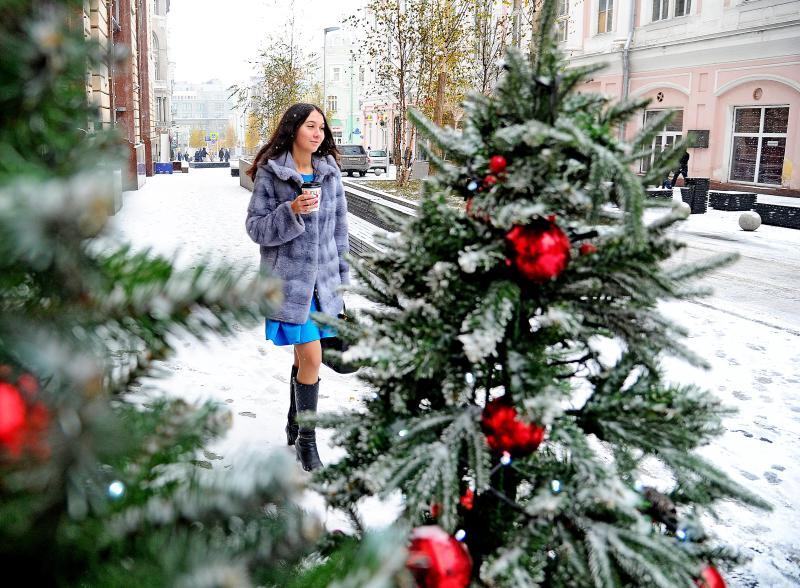 Во вторник в Москве потеплеет до плюс одного