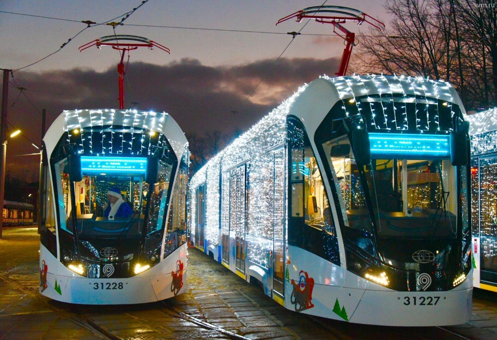 Москвичи смогут воспользоваться общественным транспортом в рождественскую ночь