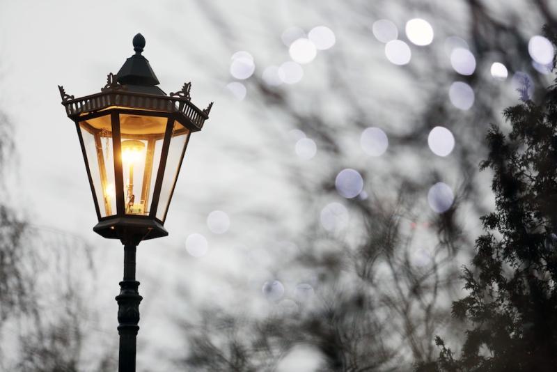Новые фонари установят в восьми деревнях Кленовского