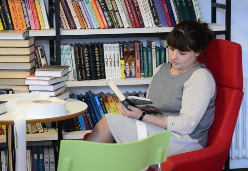 Для любителей литературы нашлась встреча по душе. Фото: Наталья Феоктистова, «Вечерняя Москва»