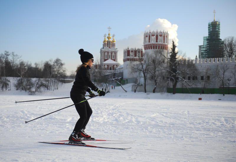 Московские лыжные трассы привели в порядок после снегопадов