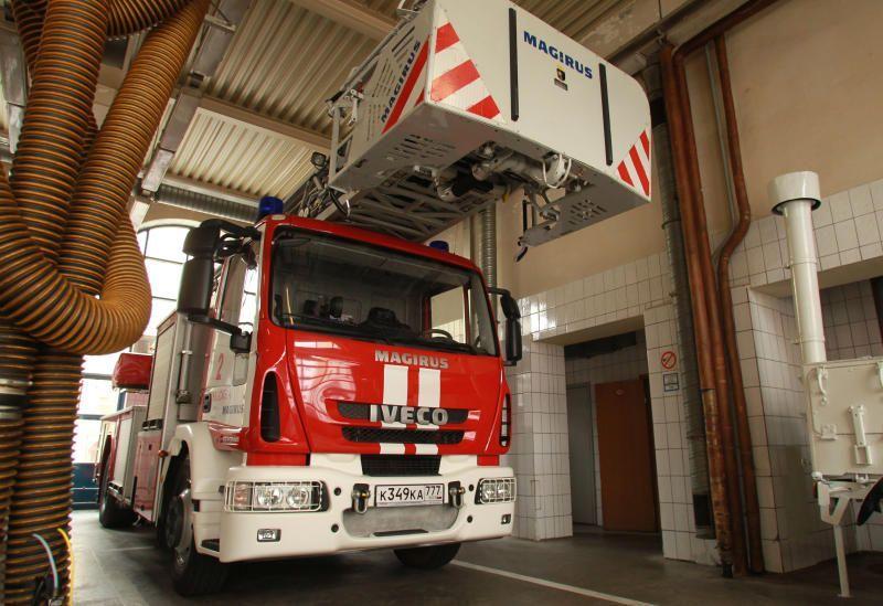 Пожар в Рязановском ликвидировали спасатели