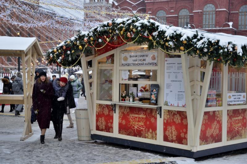 Новогодние гулянья в Москве посетили более 10 миллионов человек