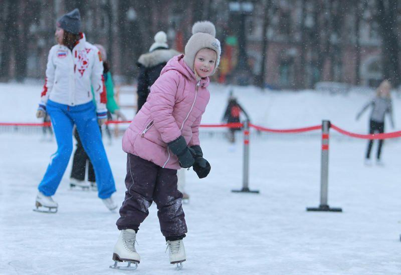 Танцы на льду. Фото: Пелагия Замятина, «Вечерняя Москва»