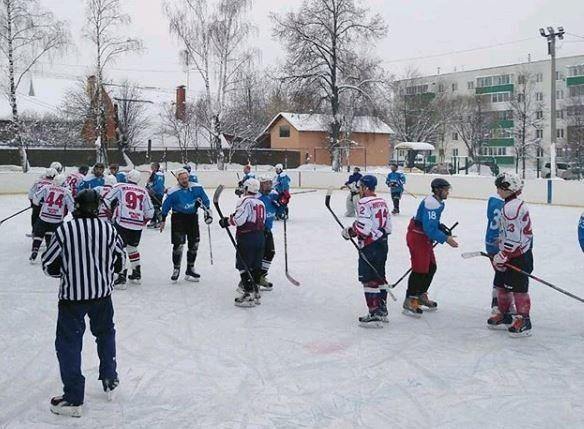 Товарищеский матч по хоккею проведут в Краснопахорском. Фото: администрация поселения Краснопахорское