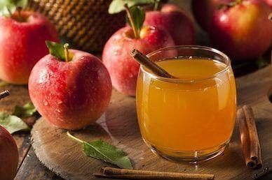 Безалкогольный яблочный сидр. Фото: pixabay.com