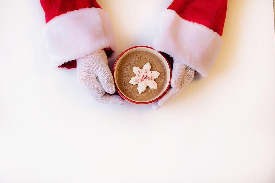 Белый горячий шоколад. Фото: pixabay.com