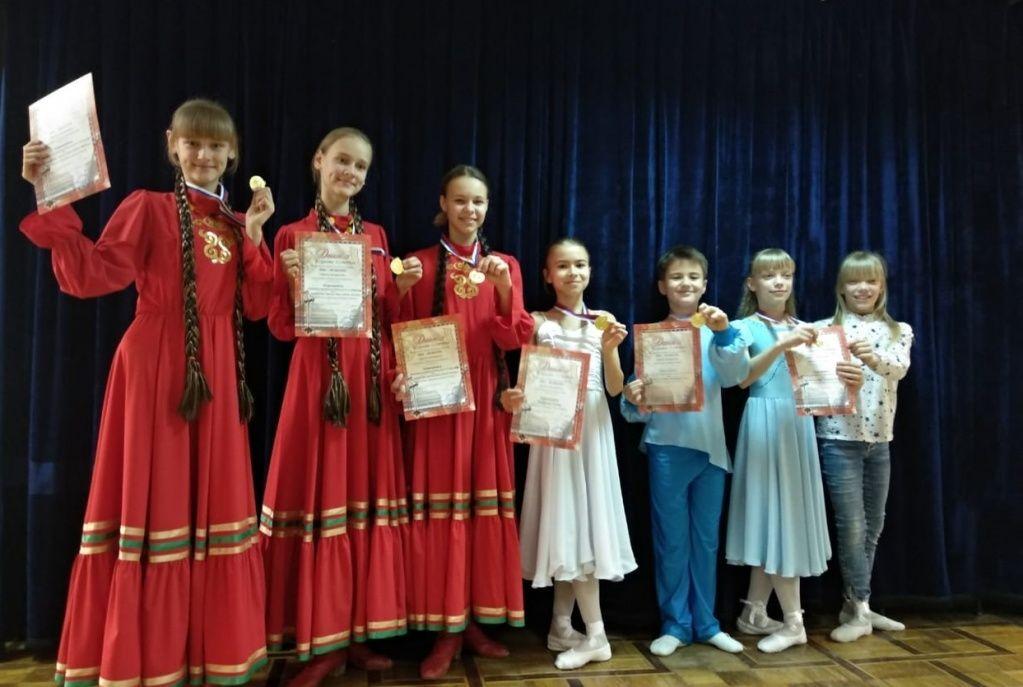 Юные представители Десеновского победили на конкурсе «Зимняя рапсодия»
