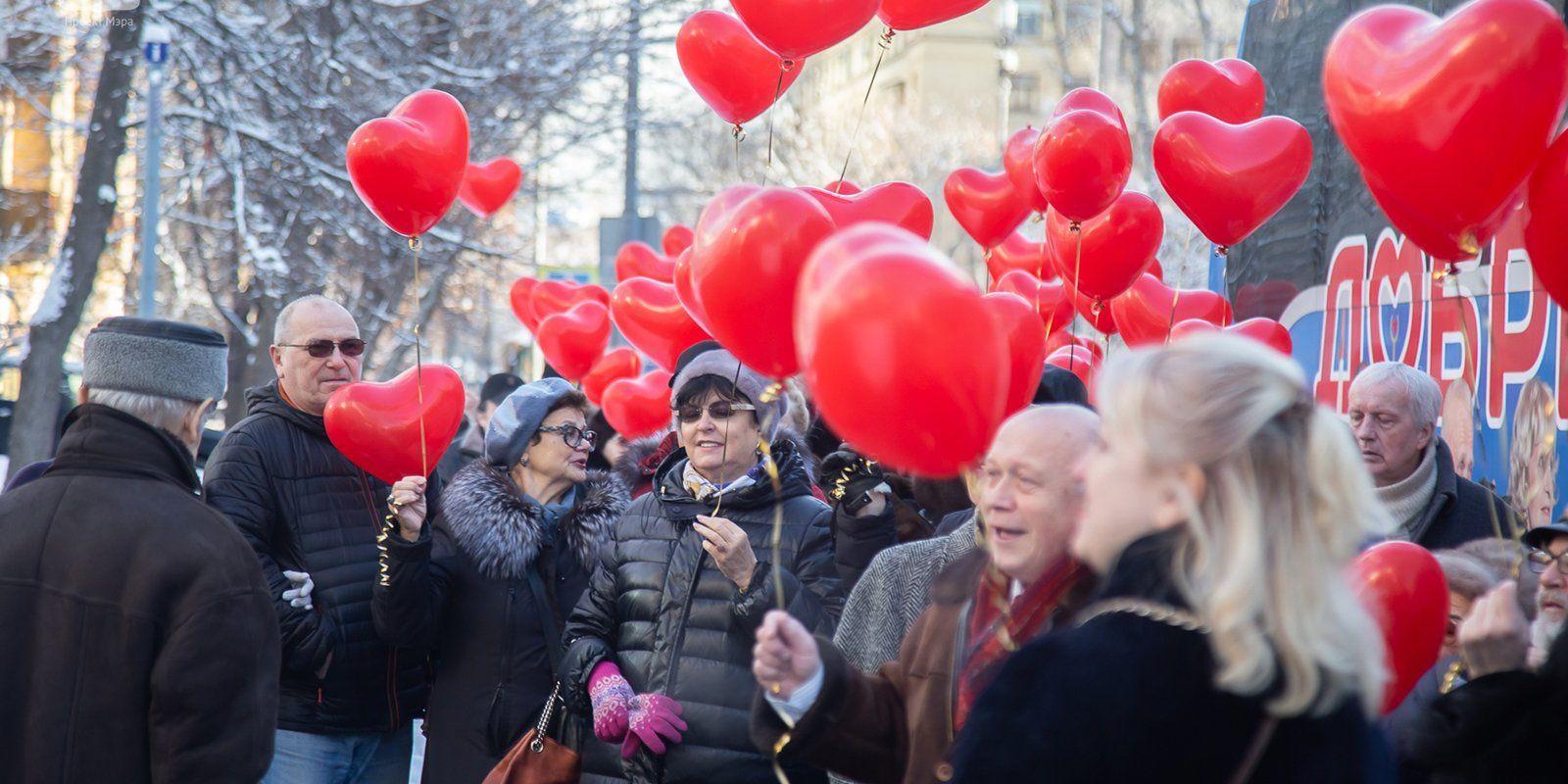Более десяти пар образовалось за время работы проекта «Московское долголетие»