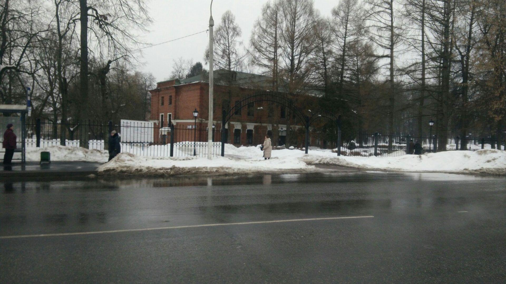 Музей-усадьба Александрово-Щапово. Вид с улицы. Фото: Максим Землянский