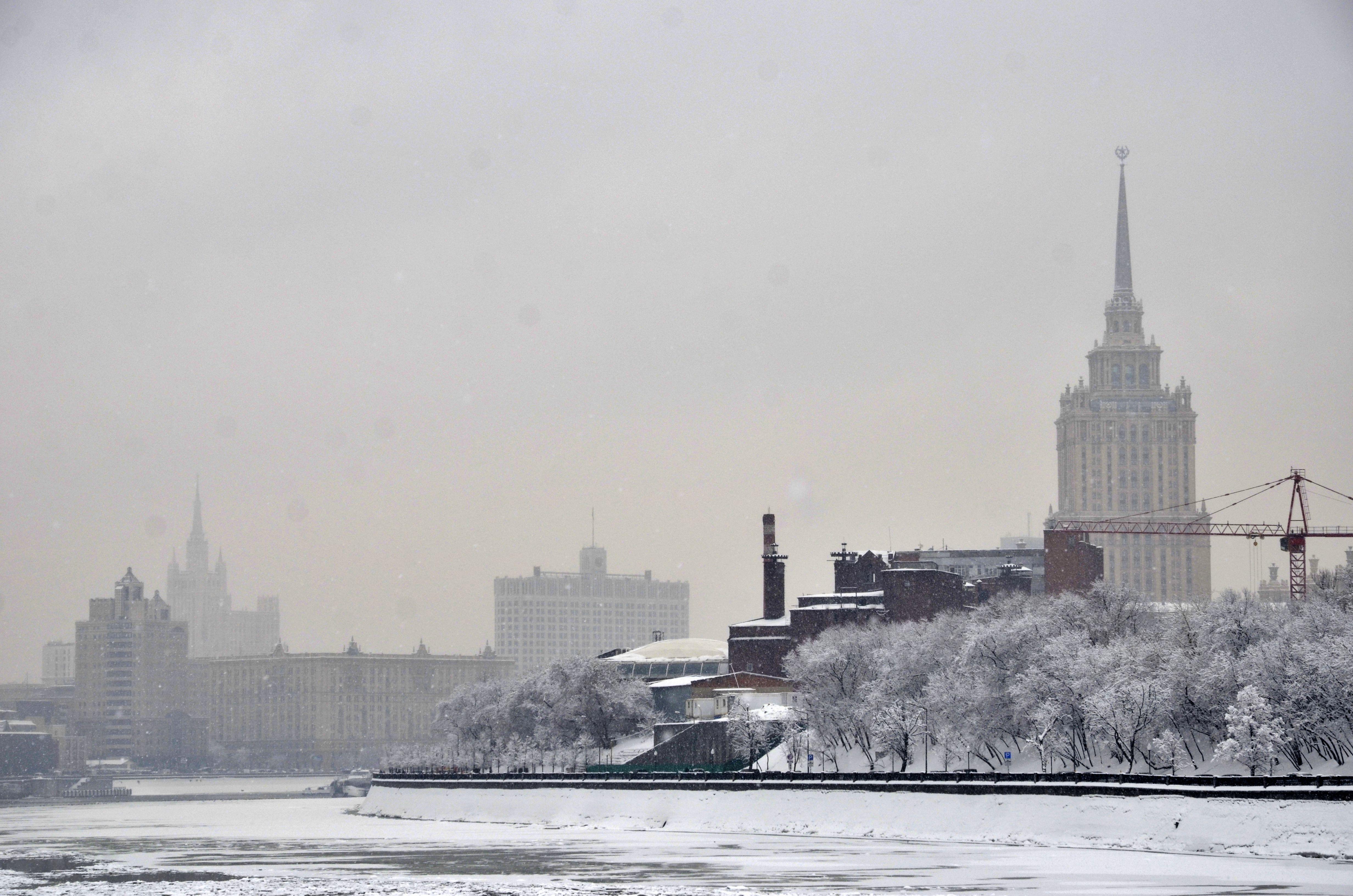 Облачная погода установится в воскресенье в Москве