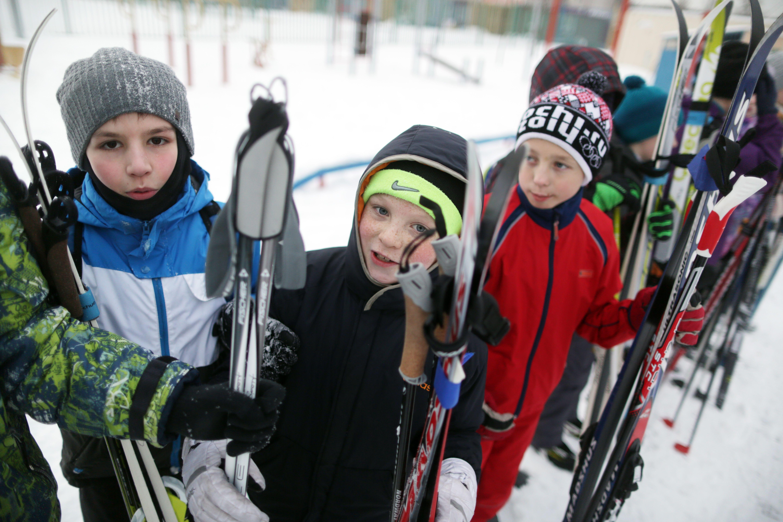 Ученики школы №2065 из поселения Московский отправятся в лыжный поход. Фото: «Вечерняя Москва»