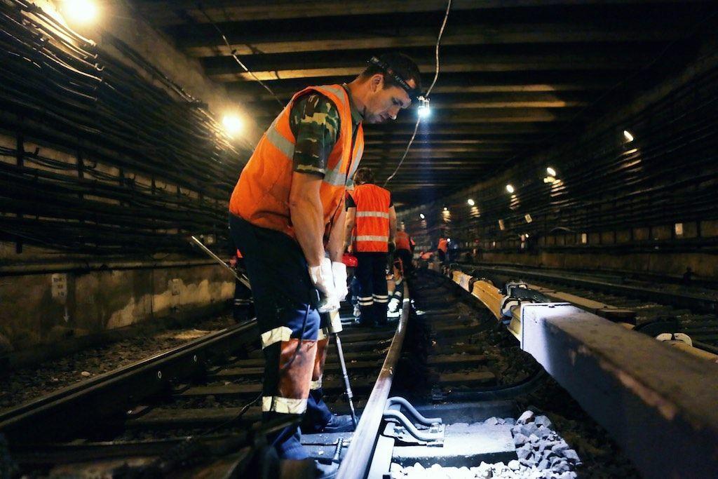 Еще один участок московского метро лишится деревянных шпал
