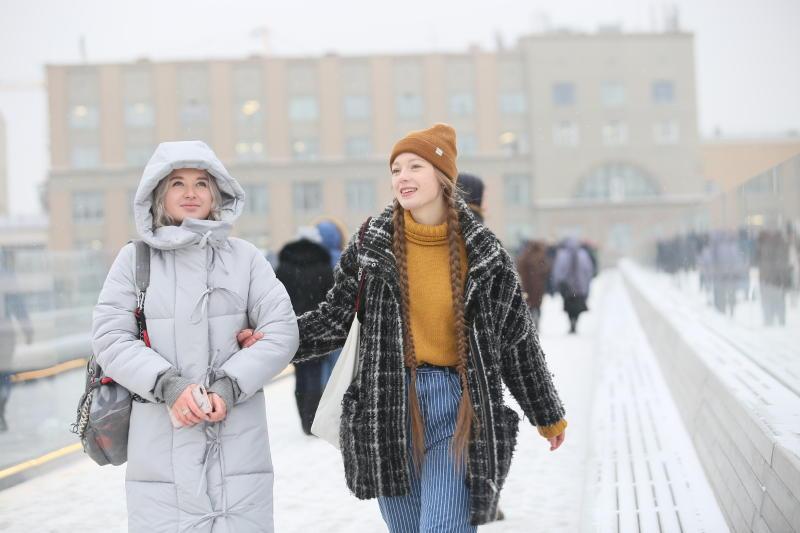 Воскресный день принесет в Москву теплую погоду