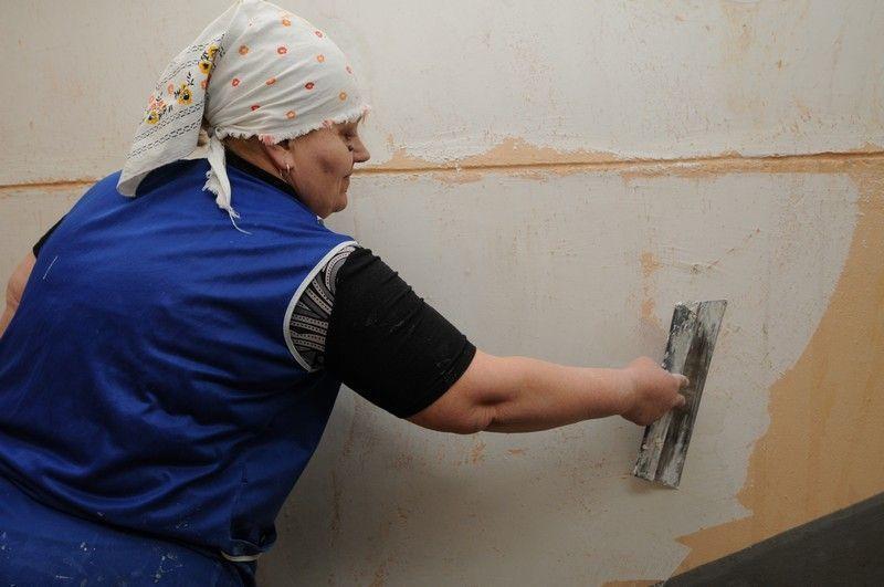 Стены в многоквартирном доме покрасят в Новофедоровском