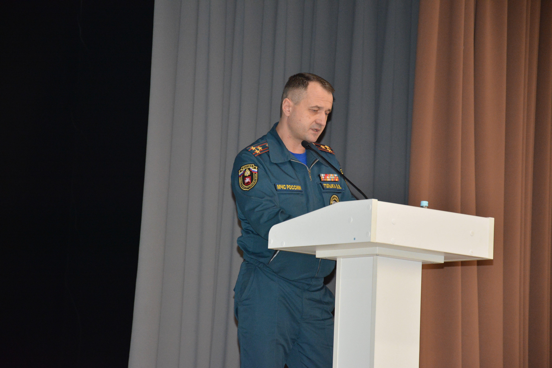 В Новой Москве прошли сборы по подведению итогов деятельности окружного звена МГСЧС за 2018 год и постановке задач на 2019 год