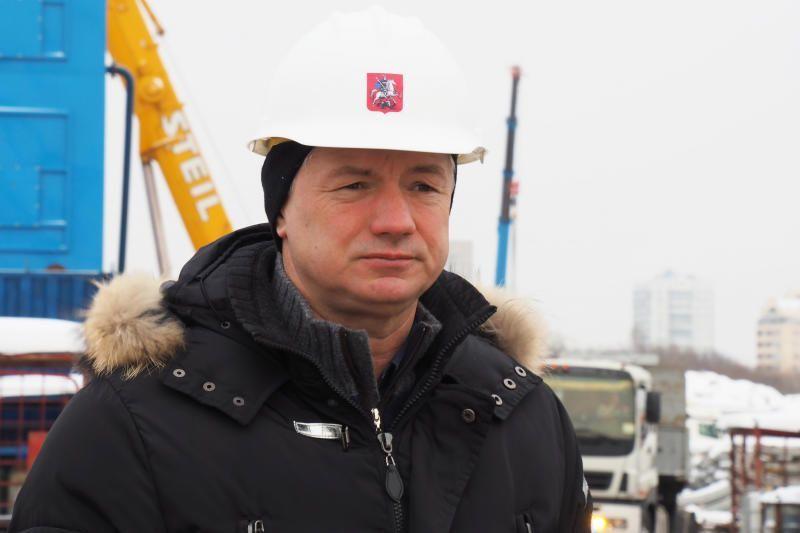 Как отметил Марат Хуснуллин, ЦКАД на территории ТиНАО будет интегрирована с Калужским шоссе. Фото: Элина Масимова, «Вечерняя Москва»