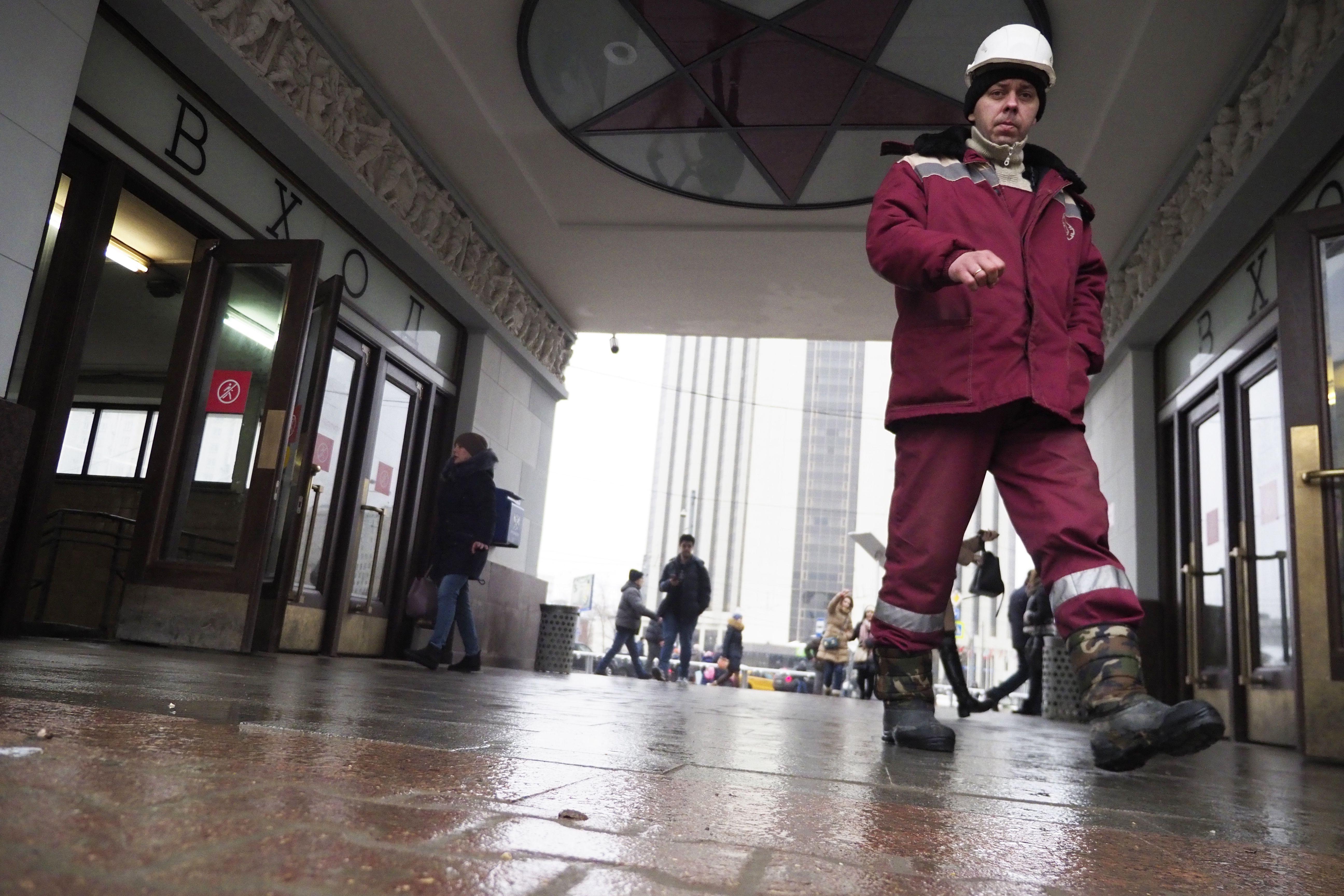 Метро Москвы частично закроет красную линию с 16 февраля
