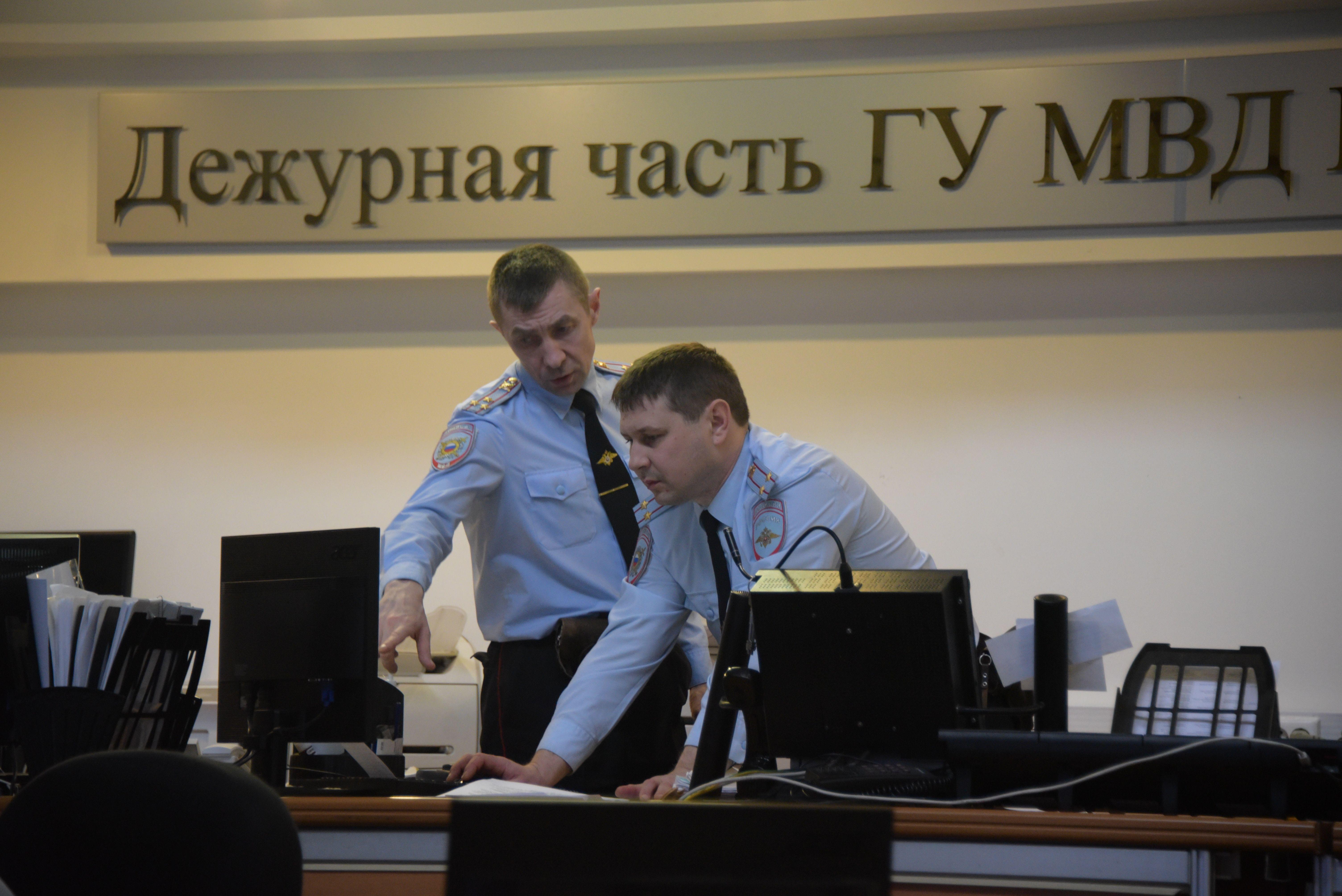 Сотрудники полиции Новой Москвы задержали подозреваемого в краже