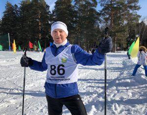 Алексей Фоменко перед стартом. Фото: Анастасия Аброськина