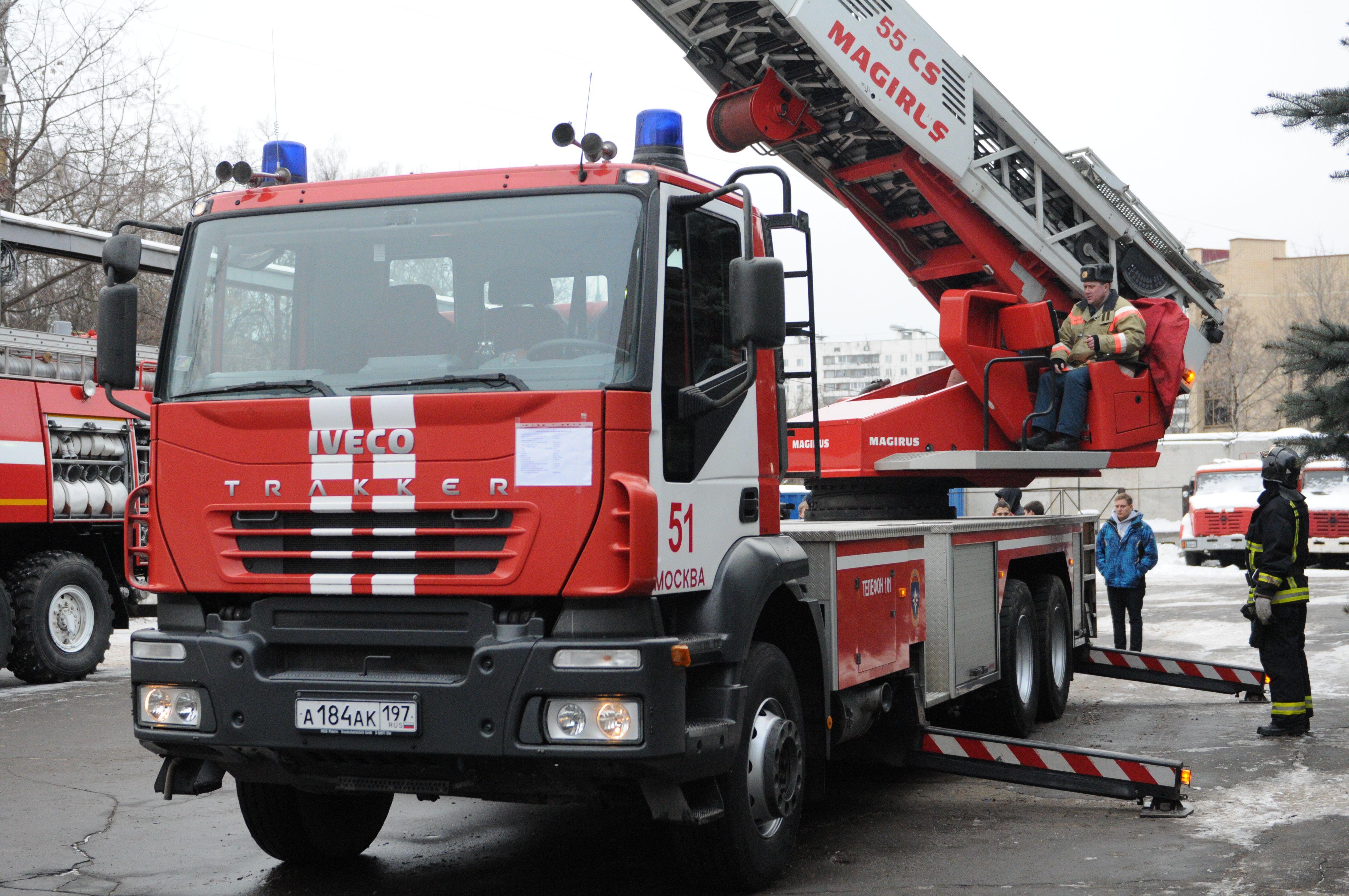 Пожарное депо появится в Рязановском