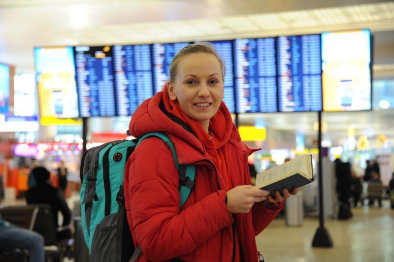 Снегопад не повлиял на работу аэропортов Москвы