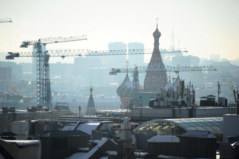 Во вторник Москву накроют туман и давление
