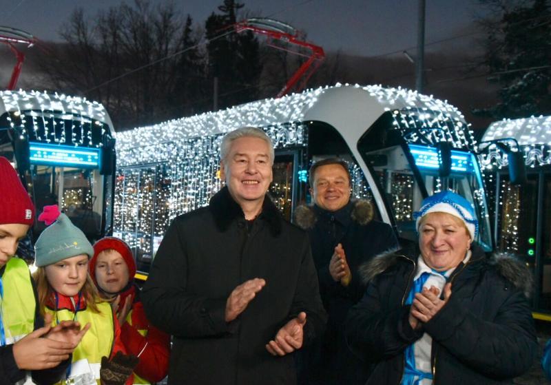 Мэр Москвы Сергей Собянин. Фото: Владимир Новиков