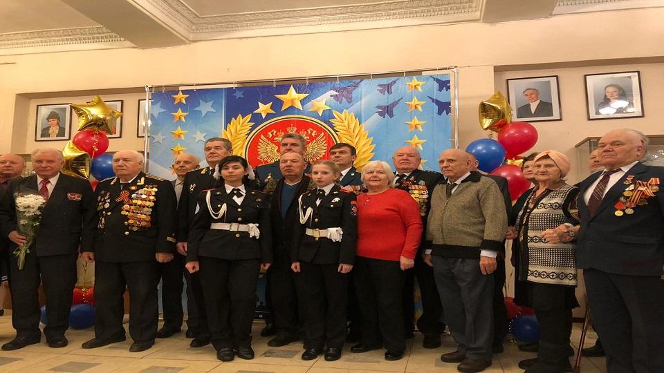 Праздничный концерт ко Дню защитника Отечества состоялся в Щербинке