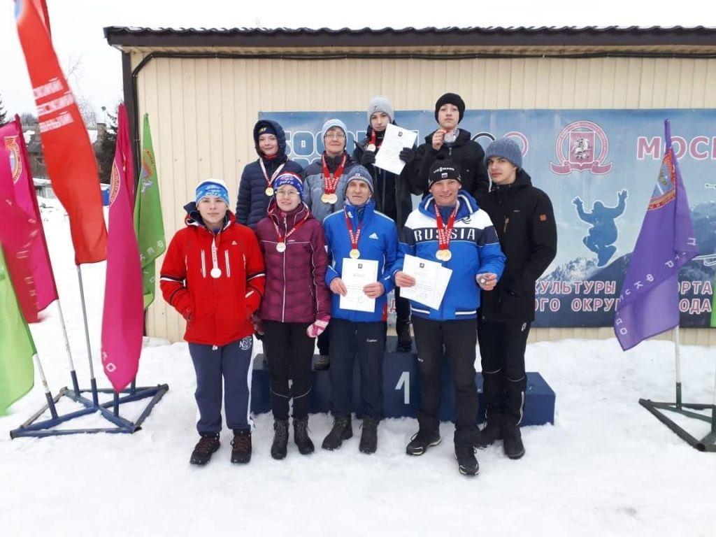 Спортсмены из Троицка стали победителями чемпионата Москвы по полиатлону