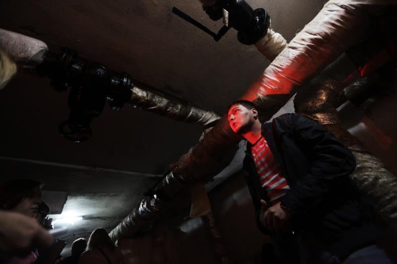 Чердаки и подвалы жилых домов осмотрели в Роговском
