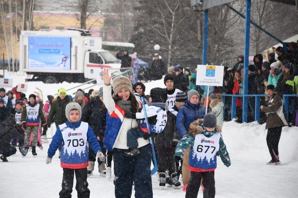 Более 300 конькобежцев встретились в Московском