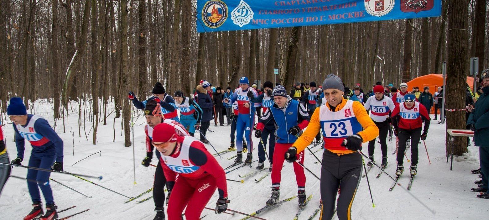 Спартакиада стартовала с лыжной эстафеты