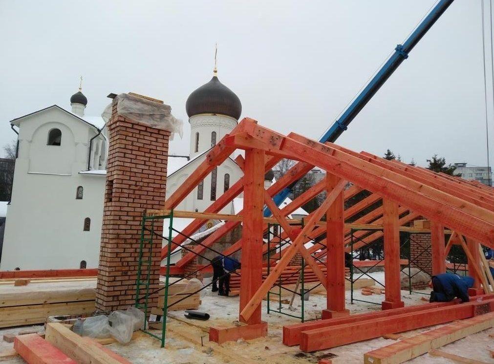 Церковный дом Троицкого храма получит крышу