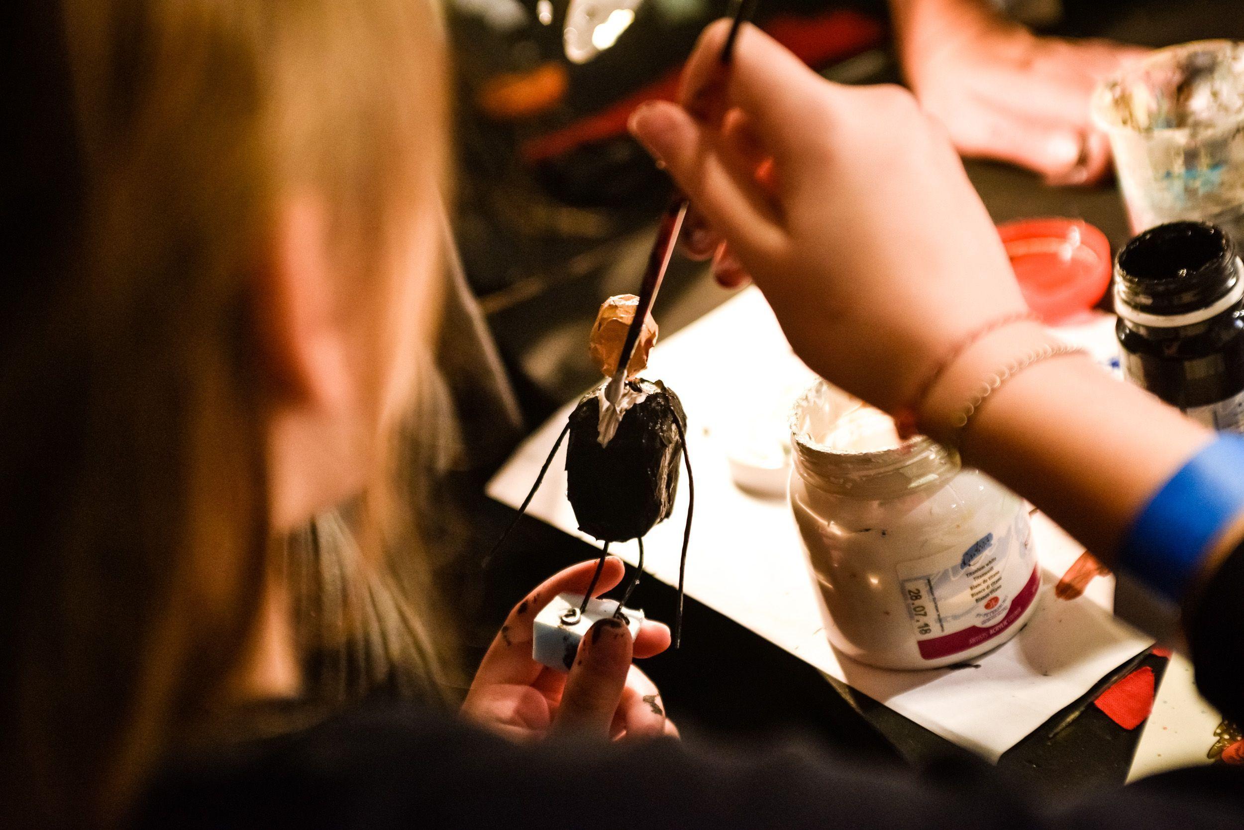 Все желающие смогут посетить мастер-класс. Фото: Ирина Хлебникова, «Вечерняя Москва»