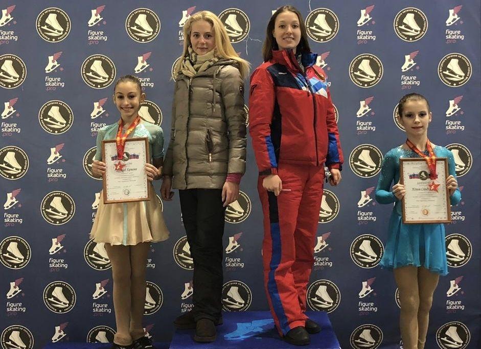 Фигуристы из Щербинки представят программу на открытых соревнованиях