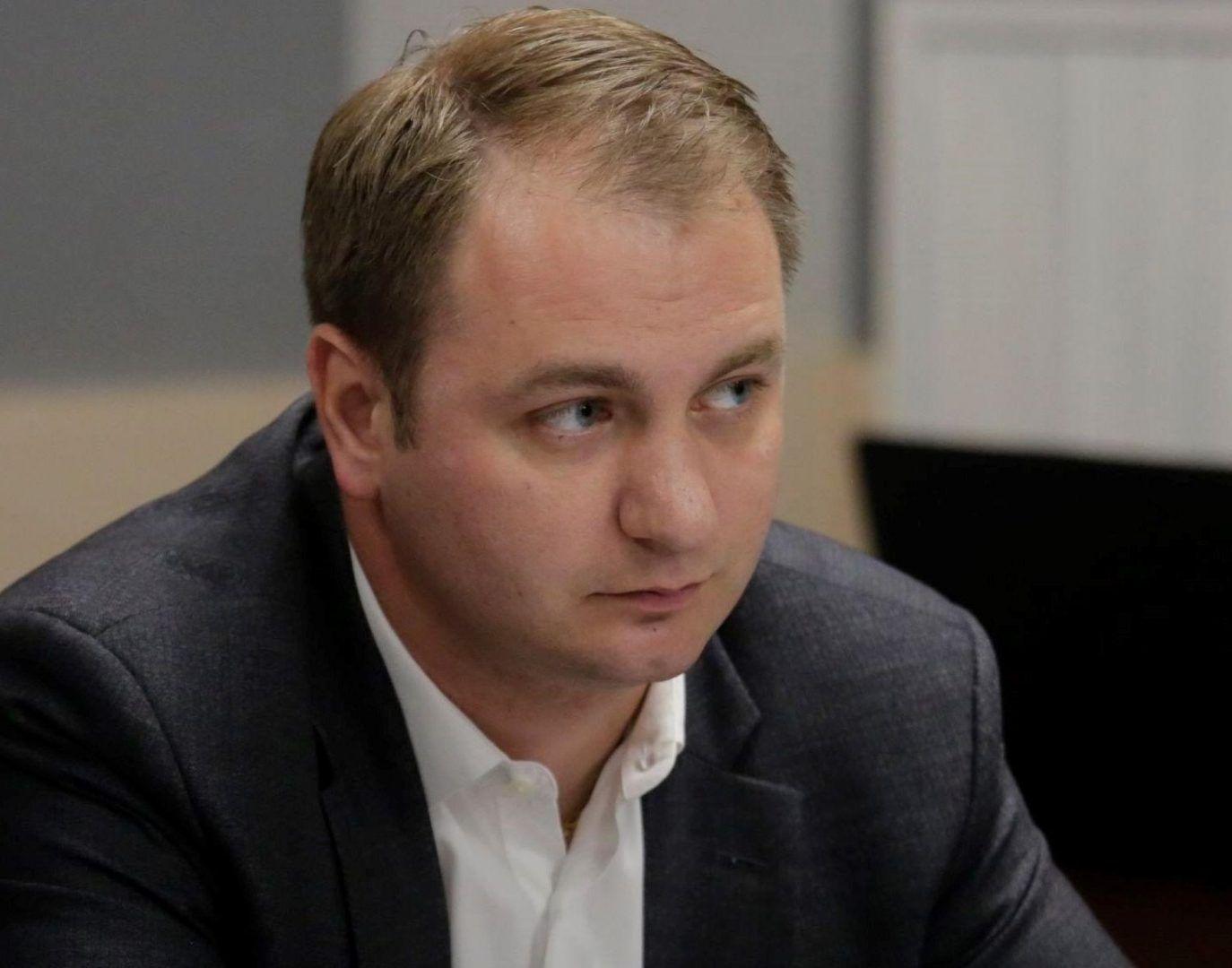 На фото председатель комиссии Мосгордумы по физической культуре, спорту и молодежной политике Кирилл Щитов.