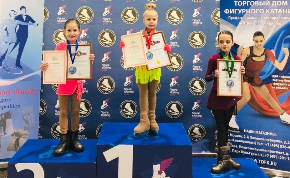 Фигуристка из Щербинки стала призером открытых соревнований