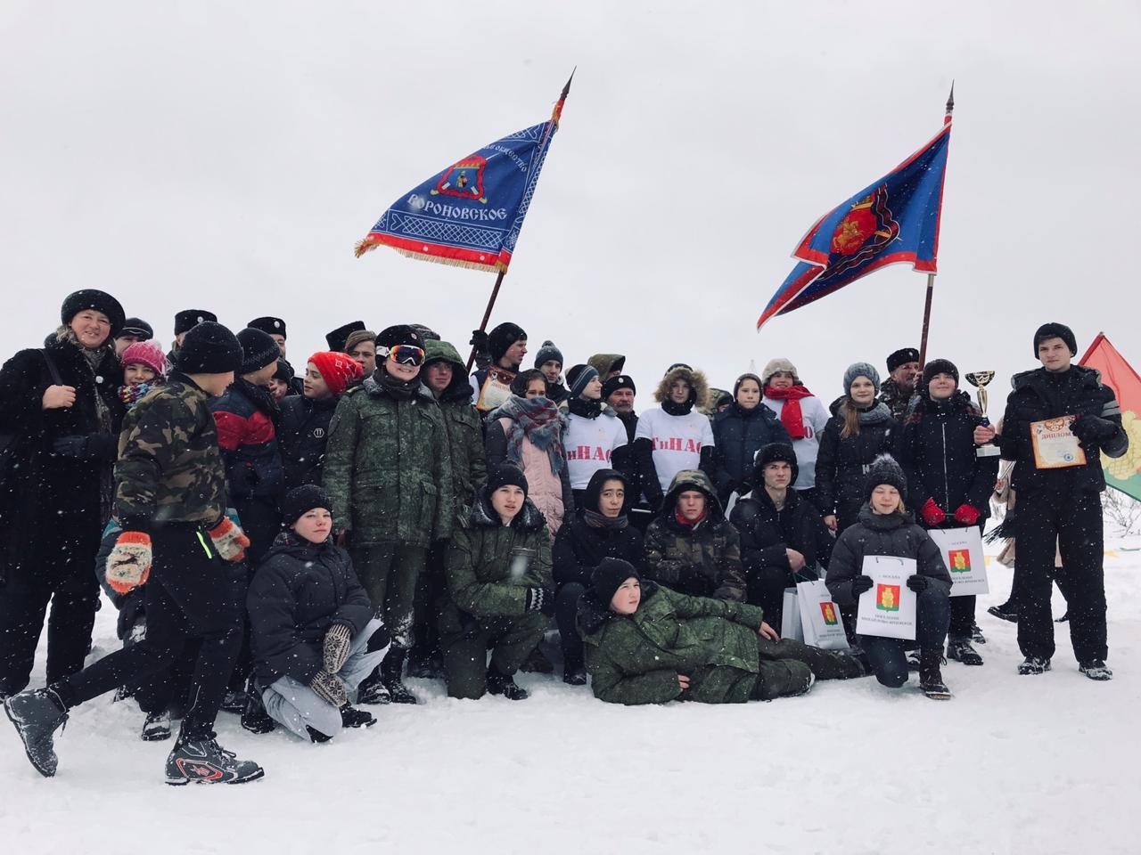 Военно-спортивную игру «Гридень» организовали в Михайлово-Ярцевском. Фото предоставил Сергей Смолин