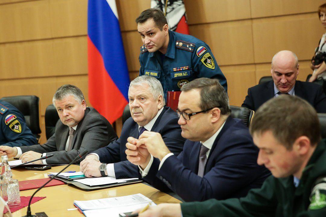 Правительства Москвы и Подмосковья взяли под контроль вопросы пожарной безопасности