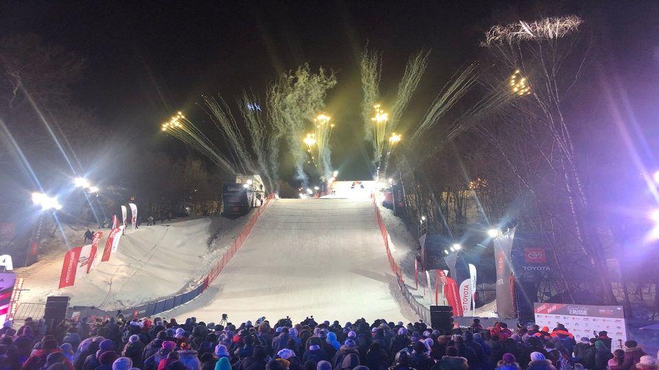 Grand Prix de Russie: мировой турнир по сноуборду состоялся в Москве