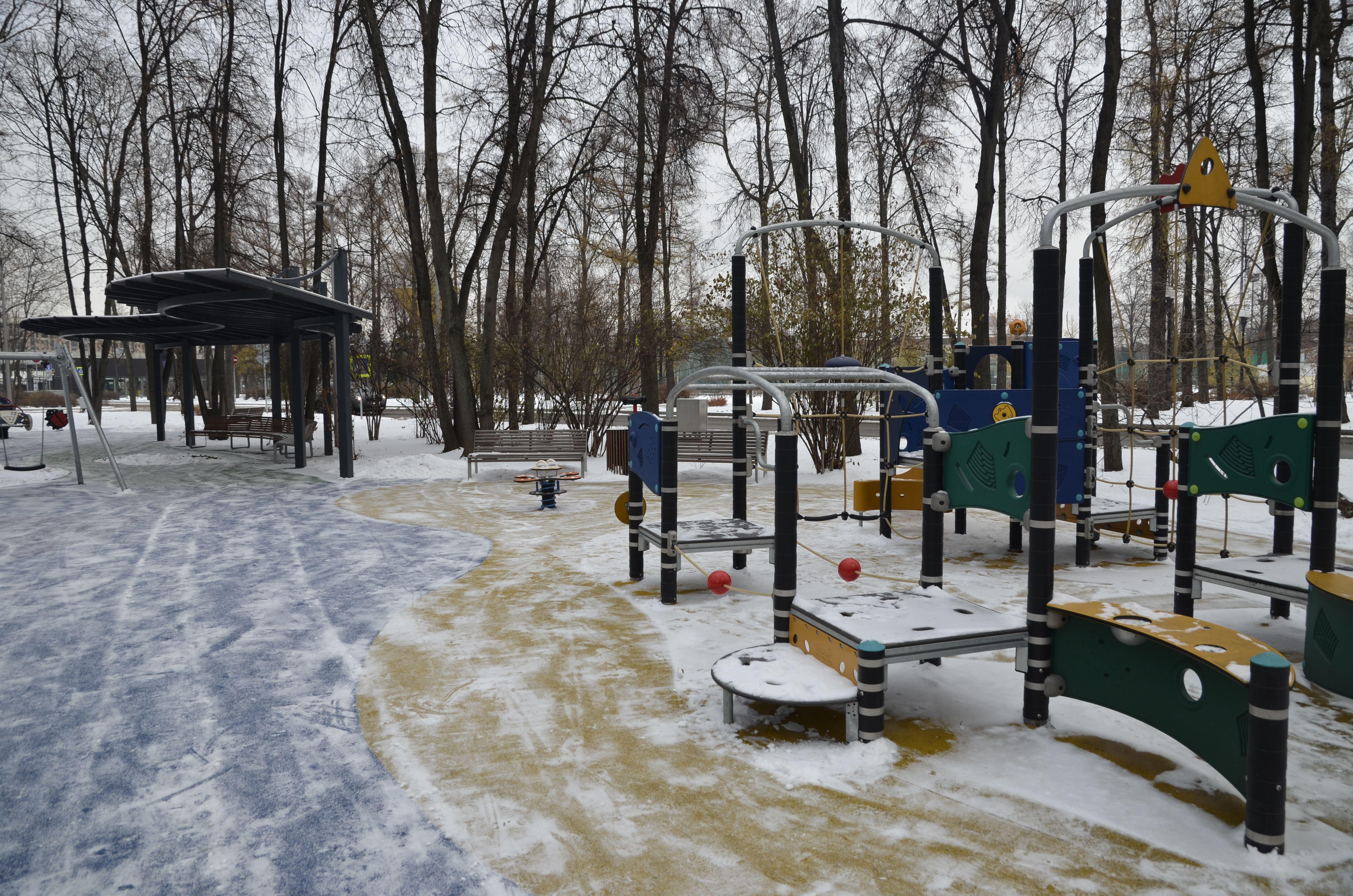 Во Внуковском проведут реконструкцию детских площадок. Фото: Анна Быкова