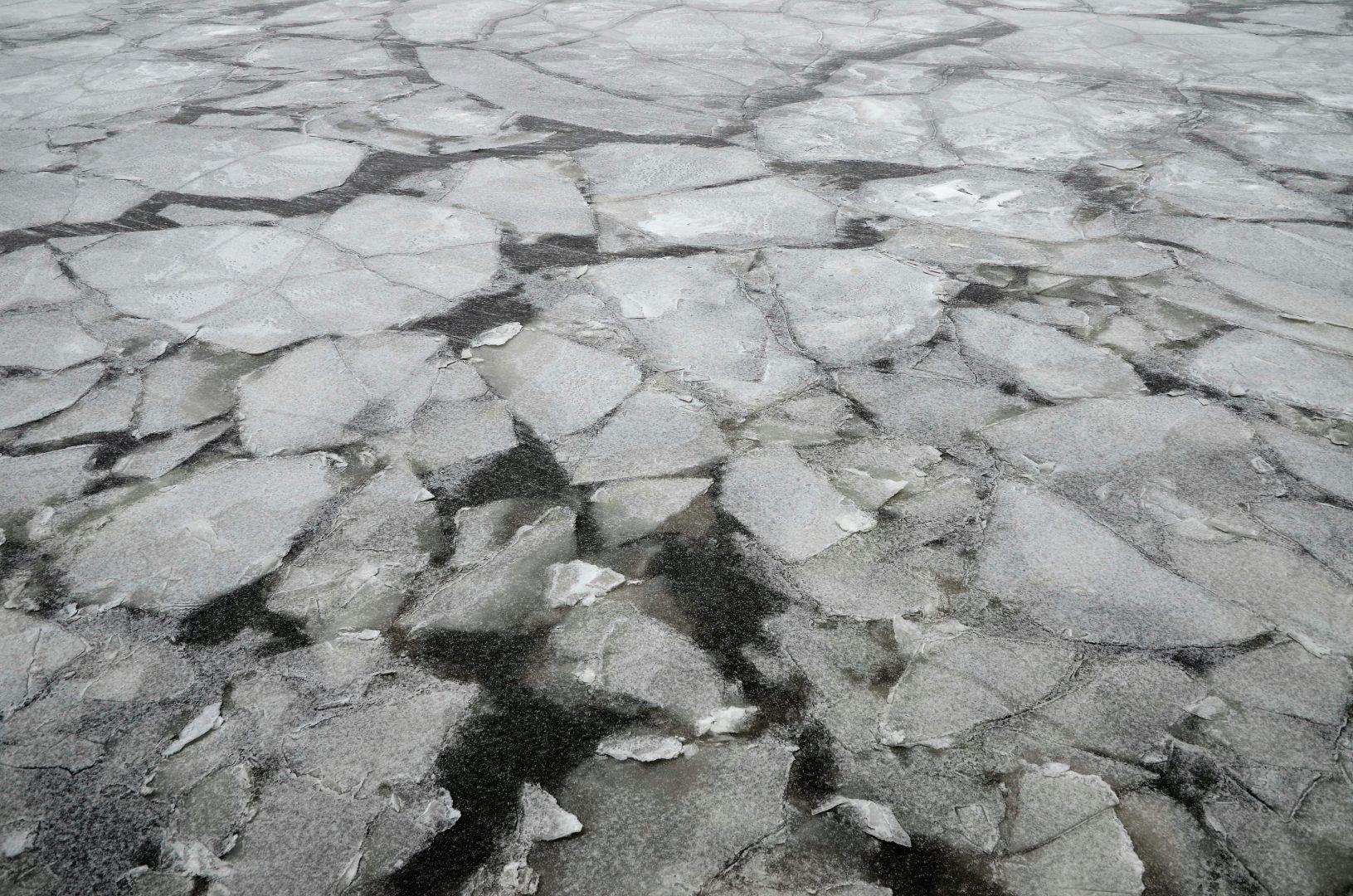 Ледяные реки растают в начале апреля в столице. Фото: Анна Быкова